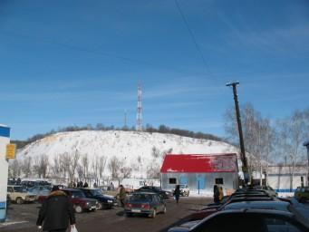 Фото Лысой горы с вокзальной площади