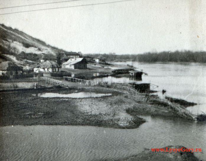 Деревянный мост через Медведицу