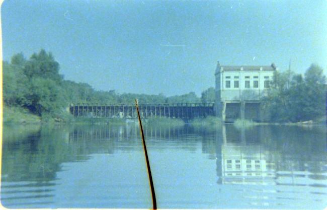 Фото ГЭСа на реке Медведице